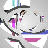 Abstract futuristic background — Stockvector