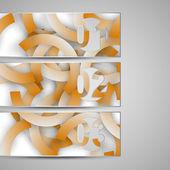 Elemento vettoriale del web per il vostro disegno — Vettoriale Stock