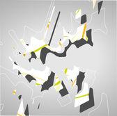 Futuristic geometric background — Vector de stock