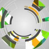 Abstrait technologie — Vecteur