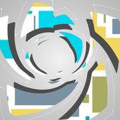 Abstract futuristic background — Vector de stock
