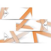 Vektor web element för din desig — Stockvektor