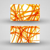 Vector business-card set for your design — Cтоковый вектор