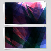 Vector business-card set for your design — Wektor stockowy
