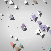 Abstract geometric shapes — Vettoriale Stock