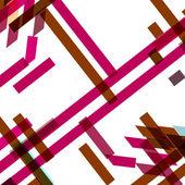 Abstract geometric shape — Stock Vector