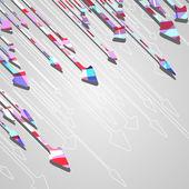 стрелка дизайн фона. — Cтоковый вектор