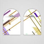обложка cd векторный набор для вашего дизайна — Cтоковый вектор