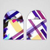 Vector cd cover set for your design — Stockvektor
