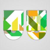 Vector cd cover set for your design — Cтоковый вектор