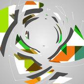 Abstract futuristic background — Stockvektor