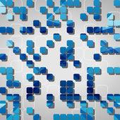 абстрактные формы фон — Cтоковый вектор