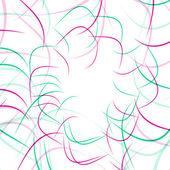 Renk dalga geçmiş — Stok Vektör