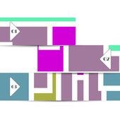 Tasarımınız için vektör web öğesi — Stok Vektör
