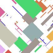 Retro abstracte achtergrond — Stockvector