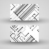 Vector business-card set for your design — Stockvektor