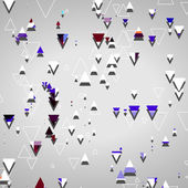 Abstract geometric shapes — Wektor stockowy