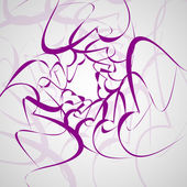 Tribal tattoo - abstract background — Vecteur