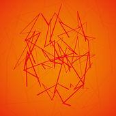 Abstrakt vågig bakgrund — Stockvektor