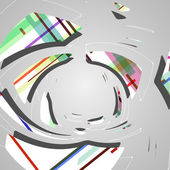 Abstract futuristic background — Stock Vector