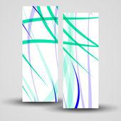 Vector banner set for your design — Cтоковый вектор