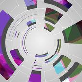 Streszczenie tło dla technika futurystyczny design — Wektor stockowy
