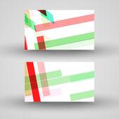 Vektor visitkort för din design — Stockvektor