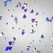 Formas geométricas abstratas — Vetor de Stock