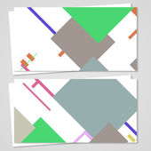 вектор бизнес карты для вашего дизайна — Cтоковый вектор