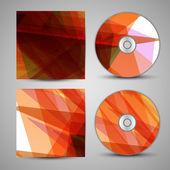 Portada del cd vector para su diseño — Vector de stock
