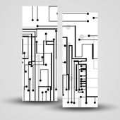 あなたのデザインの設定ベクトル バナー — ストックベクタ