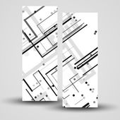 Vector banner set for your design — 图库矢量图片