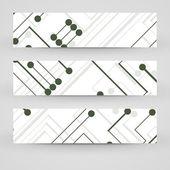 Vektor banner för din design — Stockvektor