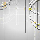 Fond abstrait cercles — Vecteur