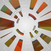 абстрактный фон для футуристический tech дизайн — Cтоковый вектор