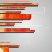抽象未来派的几何形状 — 图库矢量图片
