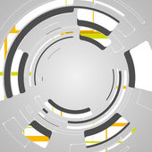 Abstraktní pozadí futuristické tech design — Stock vektor