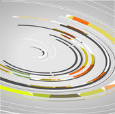 Abstract technology circles background — Stock vektor