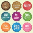 Royalty-Free Stock Vector Image: Set of badges and stickers