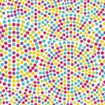 Seamless dot pattern — Stock Vector