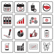 Business icons — Stock Vector #22819934