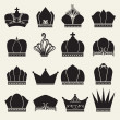 Crown collection — Stock Vector #22819942
