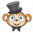 Monkey — Stock Vector #22819990