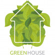 Green House — Stock Vector