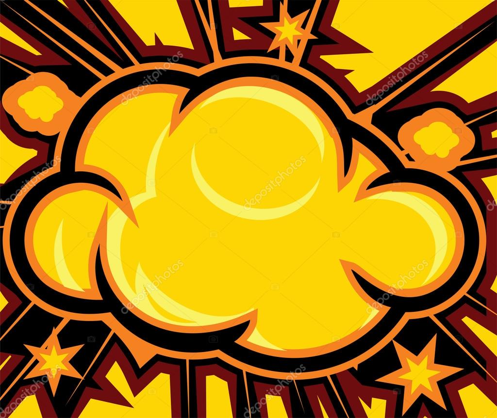 Comic Book Texture Background Explosion  Comic Book