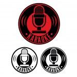 Karaoke Microphone symbol — Stock Vector