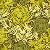 Seamless flower pattern background — Stock Vector