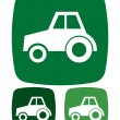 Tractor icon — Stock Vector