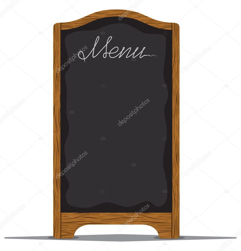 Tableau de menu lext rieur dun restaurant ou un caf for Panneau exterieur restaurant