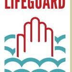 Lifeguard sign — Stock Vector